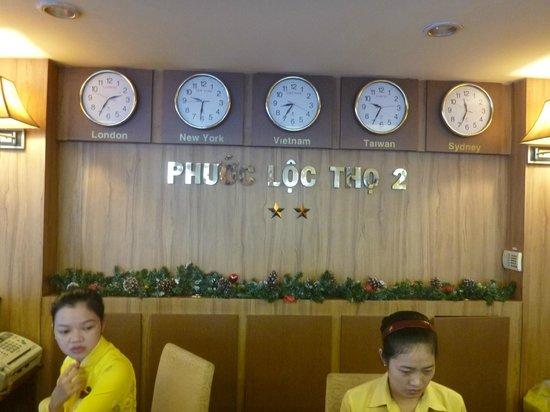 Phuoc Loc Tho 2 Hotel: フロント