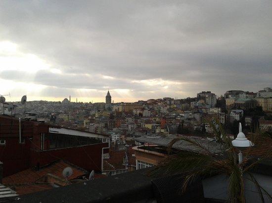 MySuite Istanbul : Blick von der Terrasse