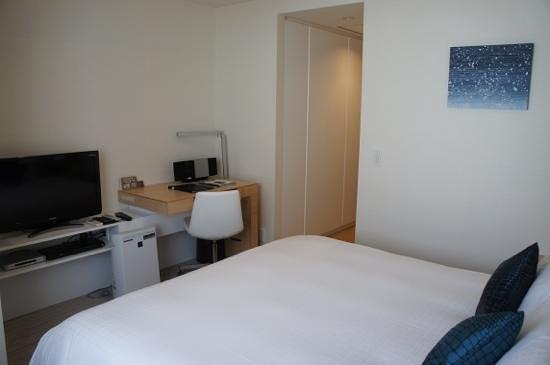 Fraser Residence Nankai Osaka: chambre 1309, petite mais très agréable