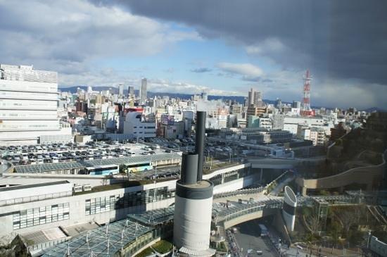 Fraser Residence Nankai Osaka: vue depuis la chambre 1309