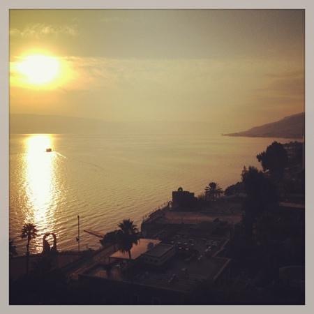 Leonardo Plaza Hotel Tiberias: view from our room 1006
