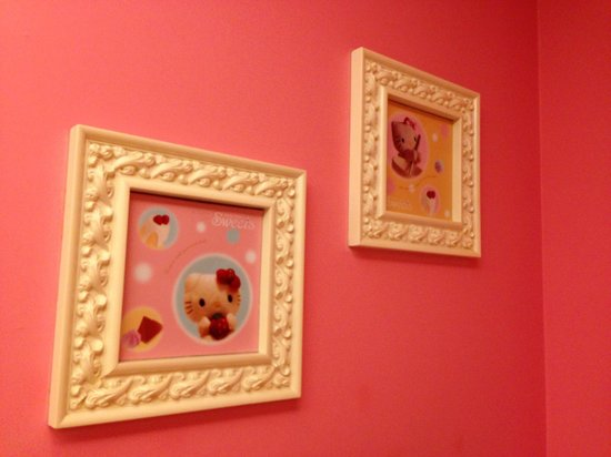 Framed Hello Kitty pic inside Ladies - Picture of Hello Kitty Sweets ...