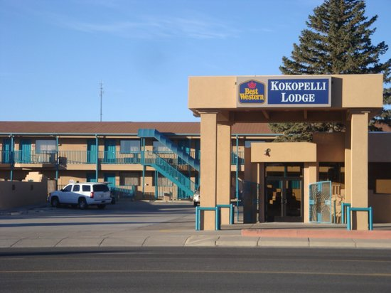 BEST WESTERN Kokopelli Lodge: Nice Oasis in the middle of nowhere !
