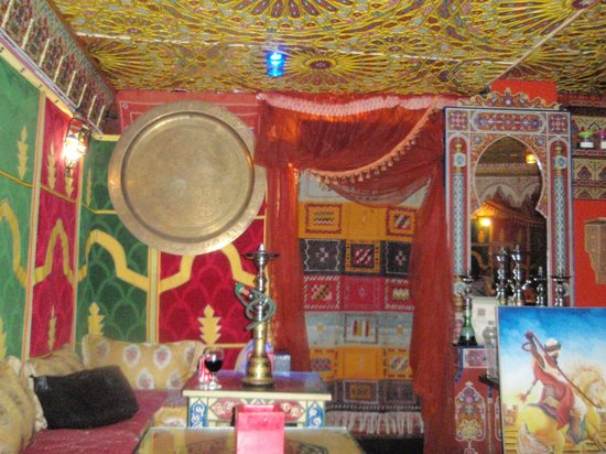 Restaurante Rahma: Interior