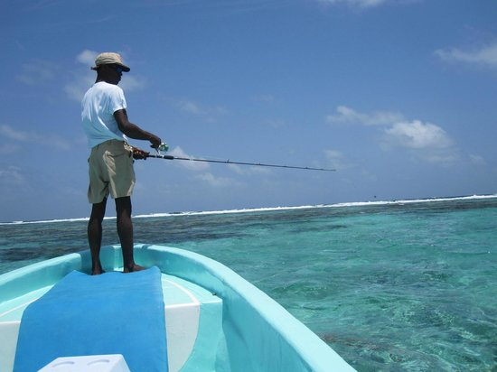 Caye Casa: Fishing