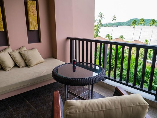 Pullman Phuket Panwa Beach Resort: Balcony sea-view