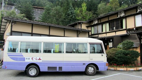 Ryokan Murayama: The van that took us to the city and back to the ryokan several times