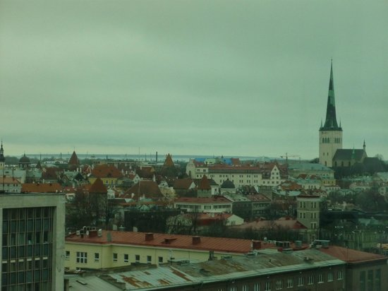 Radisson Blu Sky Hotel: View of Old Tallinn