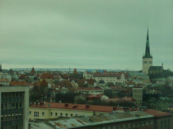 راديسون بلو سكاي هوتل  تالين: View of Old Tallinn 