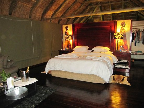 Shamwari Game Reserve Lodges: our room