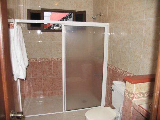 hotel colonial la aurora: Box doccia