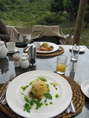 Shamwari Game Reserve Lodges: The food