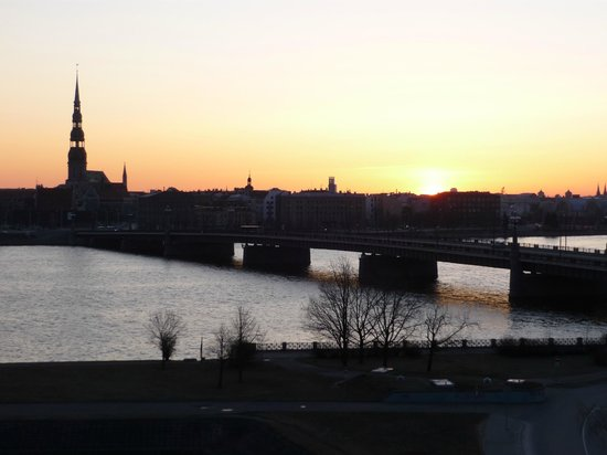 Radisson Blu Daugava Hotel, Riga: View of city