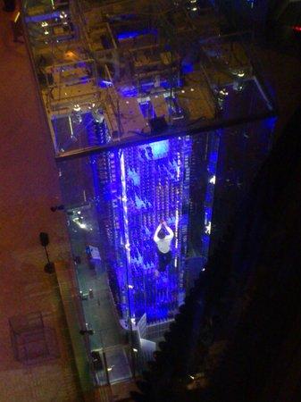 Radisson Blu Hotel, Zurich Airport: Angel's wine tower
