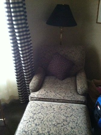 Benson Hotel: Chair