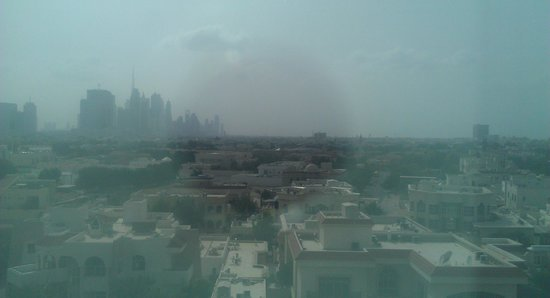 Citymax Hotels Bur Dubai: view from room 668