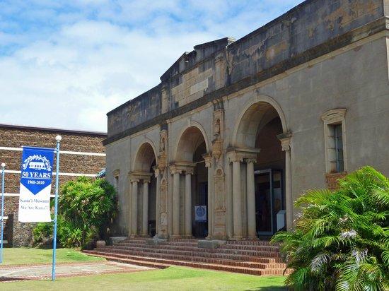 Kauai Museum: Enteing the Museum