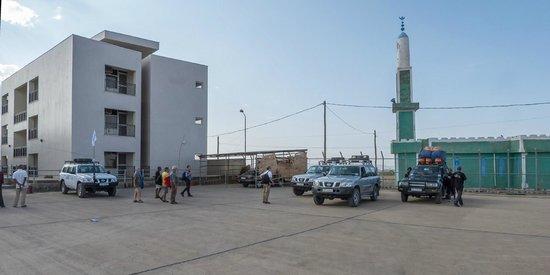 Semera, Ethiopia: vista desde el parking