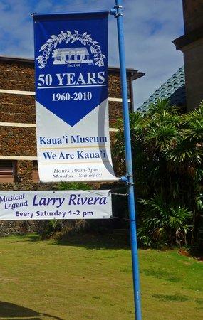 Kauai Museum: See my review of Cafe Portofino