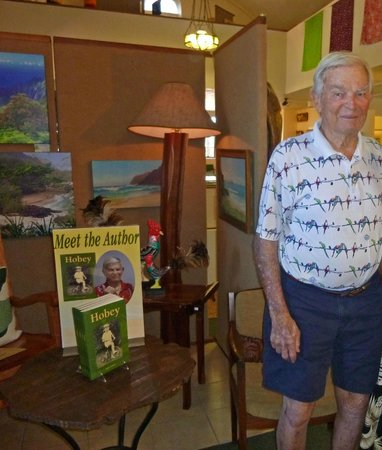 Kauai Museum: Meeting Hobey himself