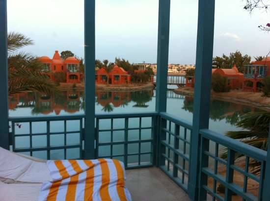 Sheraton Miramar Resort El Gouna: Lagoon view from room