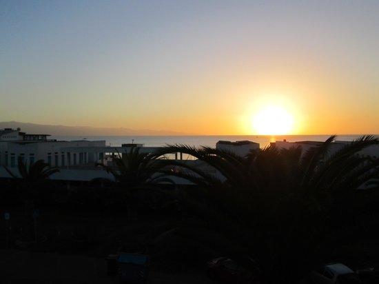 Il profumo del mare: view from our bedroom at Profumo del Mare