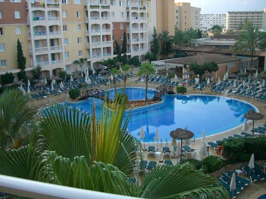 Protur Badia Park Aparthotel : Aussicht vom Balkon