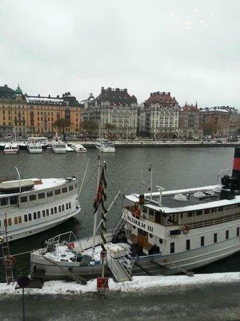 Radisson Blu Strand Hotel, Stockholm: Utsikt från rummet, Strand