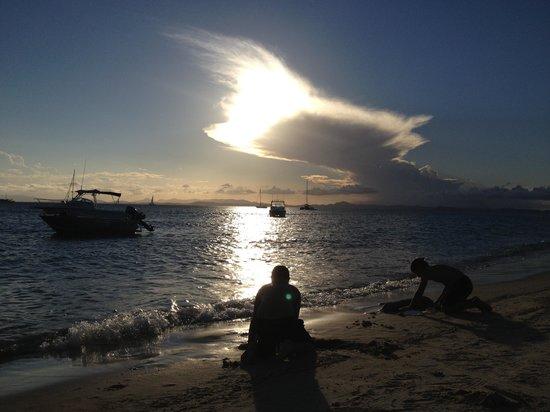 Great Keppel Island Holiday Village: Beautiful sunset
