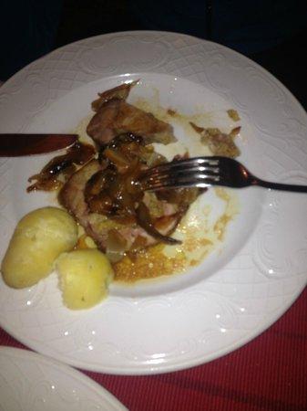 Valbruna Inn: secondo piatto