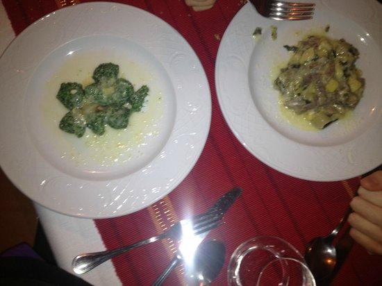 Valbruna Inn: primi piatti