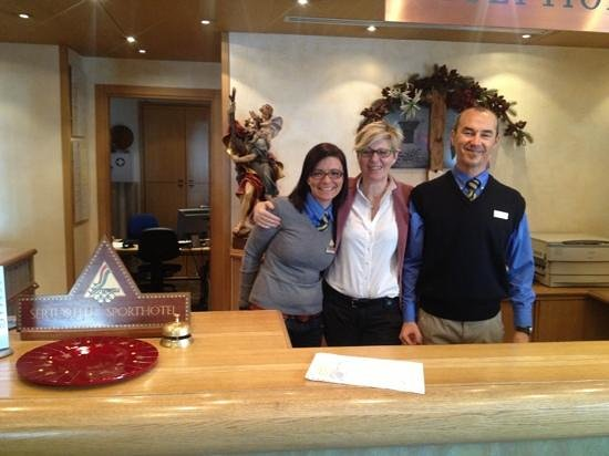 Sertorelli Sport Hotel: The reception