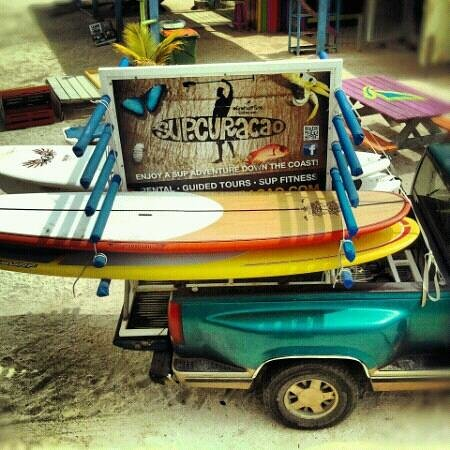 Windsurfing Curacao: stand up paddle