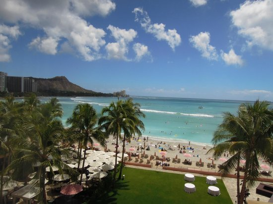 The Royal Hawaiian, a Luxury Collection Resort, Waikiki: ホテルの部屋からの眺め