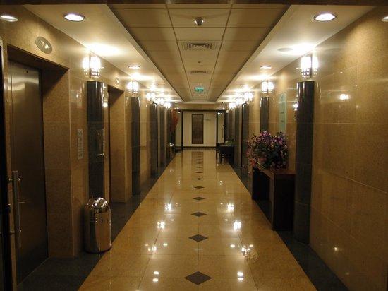 Vital Hotel: 客室エレベーターホール