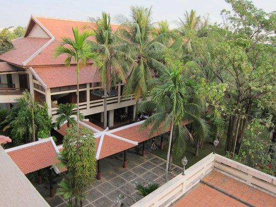 Royal Angkor Resort & Spa: ここが朝食会場です。