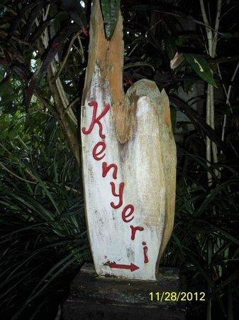 Bidadari Private Villas & Retreat: kenyeri