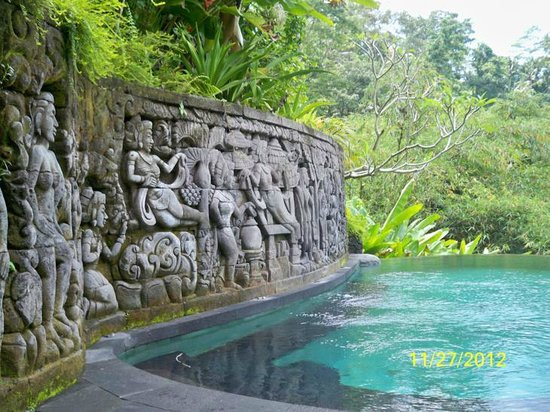 Bidadari Private Villas & Retreat: kenyeri pool
