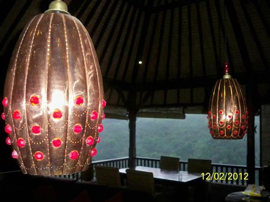 Bidadari Private Villas & Retreat: kenyeri light shades