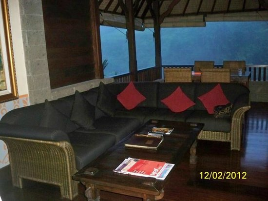 Bidadari Private Villas & Retreat: kenyeri lounge