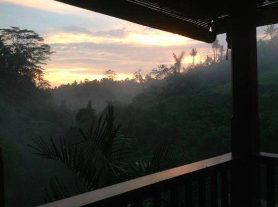 Bidadari Private Villas & Retreat - Ubud: kenyeri view