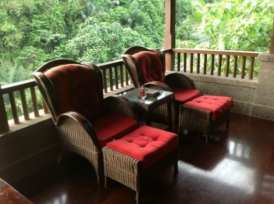 Bidadari Private Villas & Retreat: kenyeri chill out corner