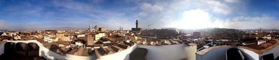 هوتل توري جولفا: panorama dalla terrazza