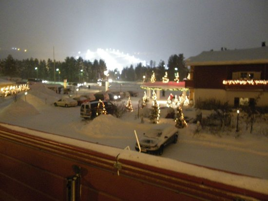 Hotel Hullu Poro - The Crazy Reindeer: View from our Balcony