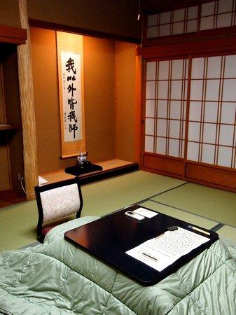 Hongakuin : 写経するために部屋を用意してくれた。