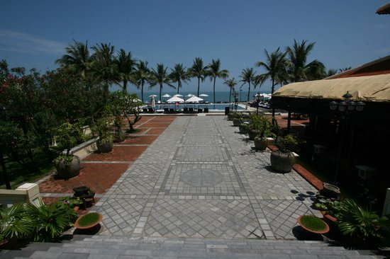 Victoria Hoi An Beach Resort & Spa: From Reception facing East & the South China Sea