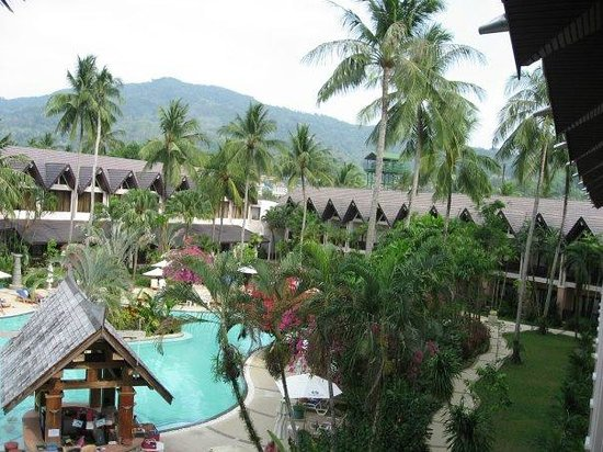 Duangjitt Resort & Spa: View from room