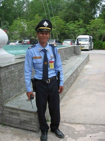 Duangjitt Resort & Spa: Hotel security