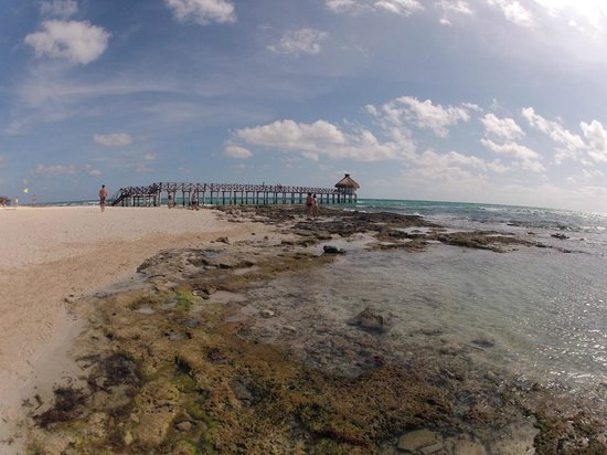 The Grand Mayan Riviera Maya: nice pier on site where you can have your wedding