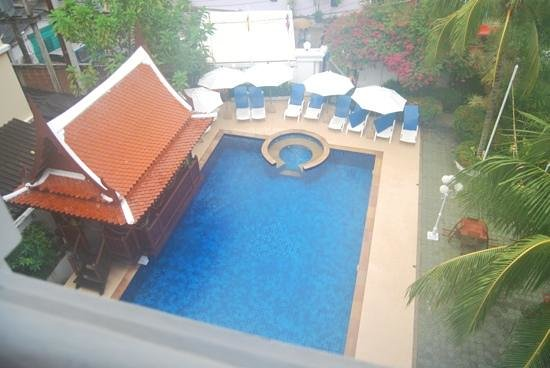 Villa Atchara: View from upstairs